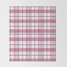 Hong Kong Red-white-blue bag Throw Blanket