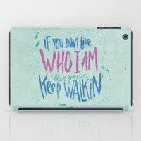 karen iPad Cases featuring KAREN GEWALT LAFAYETTE by Josh LaFayette