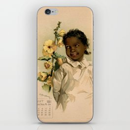 African Girl Maud Humphrey iPhone Skin