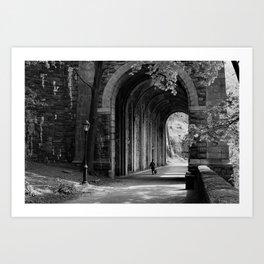Ft. Tryon Tunnel Art Print