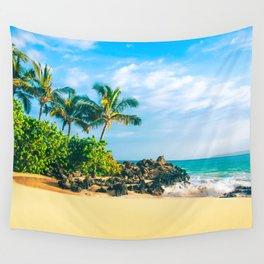 Paako Beach Makena Maui Hawaii Wall Tapestry