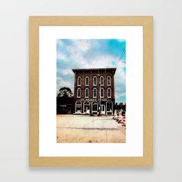 De Haven's Store Framed Art Print