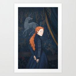 Queen of Scots Art Print