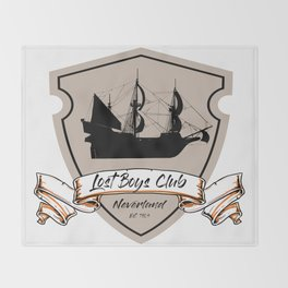 Lost Boys Club Throw Blanket