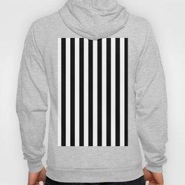 Black and white vertical stripes | Classic cabana Stripe Hoody