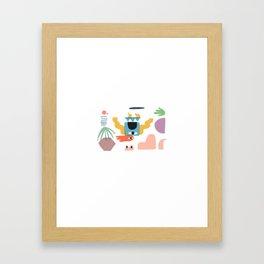 Immediate Call Framed Art Print