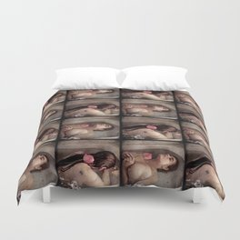 The Lady of Shallot Duvet Cover