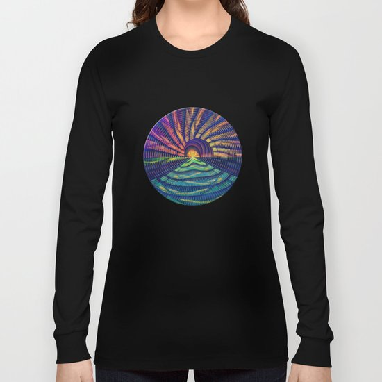 Sunrise on the Sea 2 Long Sleeve T-shirt