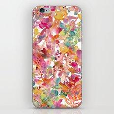 watercolor meadow iPhone & iPod Skin