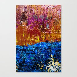 Sun will Never set for you (left closeup) Canvas Print