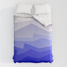 Chaos Sea Blue Comforters