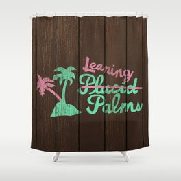Leaning Palms Shower Curtain