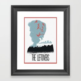 The Many Faces of Cinema: Leftovers Kevin Ver. Framed Art Print