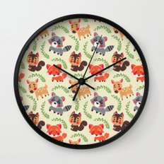 The Happy Forest Friend Wall Clock