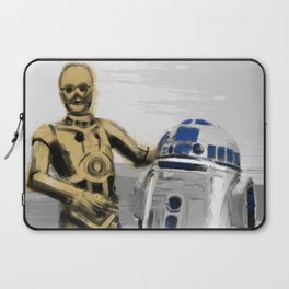 C3PO & R2D2 Laptop Sleeve