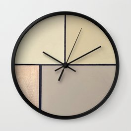 Toned down Wall Clock