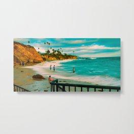 Laguna Cali. Metal Print
