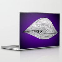 spaceship Laptop & iPad Skins featuring Spaceship by Ajinkya Pawar