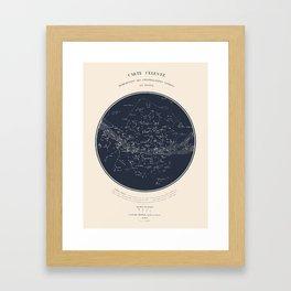 Carte Celeste Framed Art Print