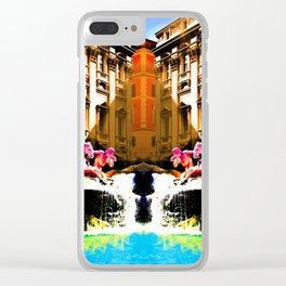 Trevi on the Flipside Clear iPhone Case