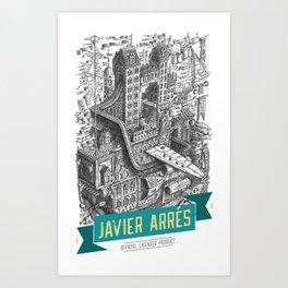 Javier Arrés Official Branding Art Print