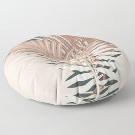 Nomade Palm Leaves / Neutral Harmony Floor Pillow