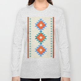 geometry navajo pattern no3 Long Sleeve T-shirt