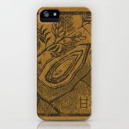 Gui Zhi- Cinnamon Color iPhone Case