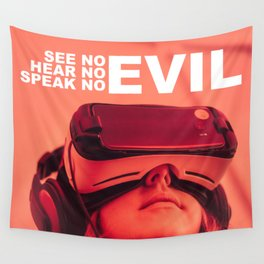 See | Hear | Speak | No Evil Wall Tapestry