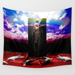 The New God Wall Tapestry