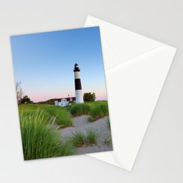 Big Sable Point Lighthouse - Ludington Michigan Stationery Cards