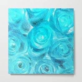 Blue Roses 727 Metal Print