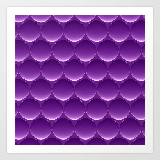 Purple One Art Print