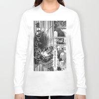 manga Long Sleeve T-shirts featuring Manga 03 by Zuno
