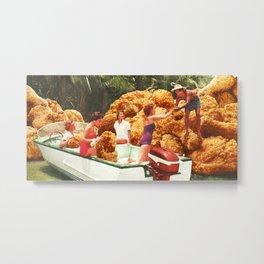 Fried chicken drive-thru Metal Print