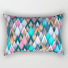 Sweet Colorful Arrowheads Rectangular Pillow