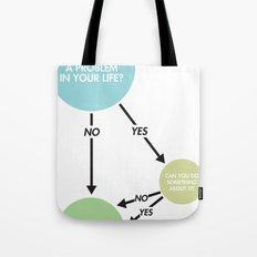 Zen Flowchart Tote Bag