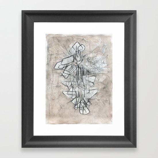 palimpsest I Framed Art Print
