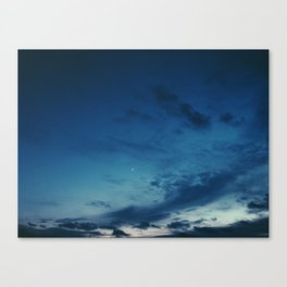 Cold Skies Canvas Print