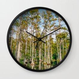 Charleston Cypress Gardens LIX Wall Clock