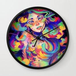RainbowFish Wall Clock