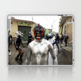 Lucha libre plateada Laptop & iPad Skin