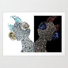 Siamese Things Art Print