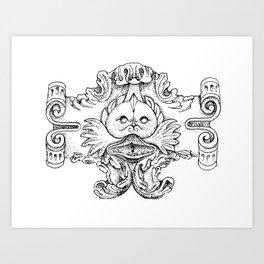 The Fronteira's Monster Art Print