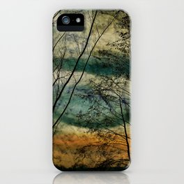 Nature lake iPhone Case