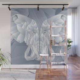 Stone Elephant Wall Mural