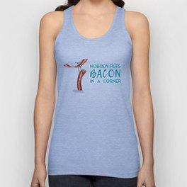 Nobody Puts Bacon In A Corner Unisex Tanktop