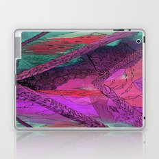 Purple Chevron Trippyness Laptop & iPad Skin