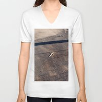 religion V-neck T-shirts featuring Religion. by DanielleYagodich