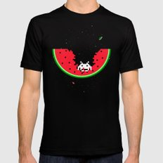 Spacemelon Mens Fitted Tee Black LARGE